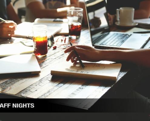 events - staff nights